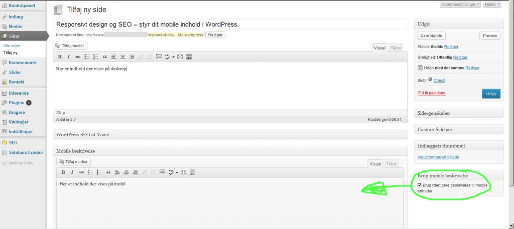 Mobilt-indhold-WordPress